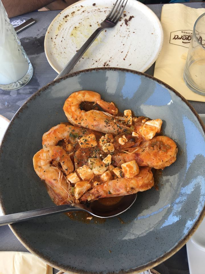 Vegera - Shrimp Saganaki